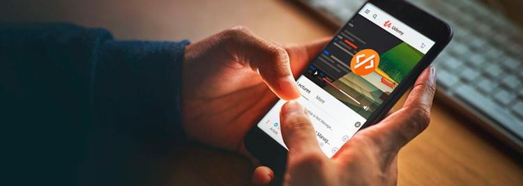 application mobile cours en ligne udemy