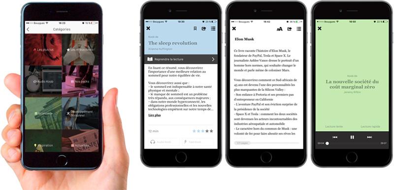koober application mobile presentation avis